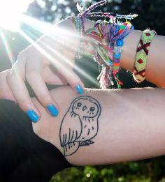 Owl Tattoo #EasyPin  I want this tattoo!!