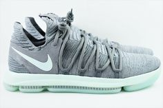bb5d97fd4bc5 (eBay Sponsored) NIke Zoom KD 10 KDX Mens Size 18 Basketball Shoes Igloo  897815 002 Kevin Durant