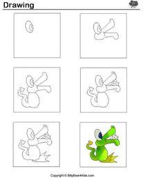 Brincando de desenhar! Como desenhar animais passo a passo - ESPAÇO EDUCAR