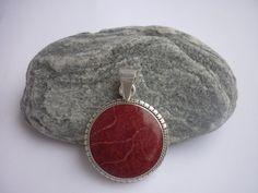 CORAL Madrepora pendant. Sterling SILVER by NaturalmundiBijoux, €29.00