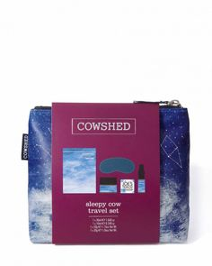 The Best Beauty Gifts for Travelers: Cowshed Sleepy Cow Travel Set