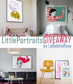 LA BELETTE ROSE- little portraits Giveaway// petitapetitandfamily.com