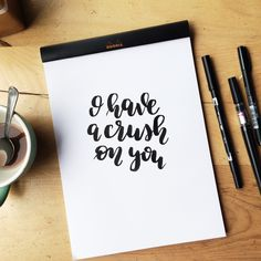 I have a crush on you!