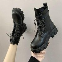 Dr Shoes, Sock Shoes, Me Too Shoes, Runners Outfit, Punk Boots, Cosplay Boots, Black Combat Boots, Black Platform, Stylish