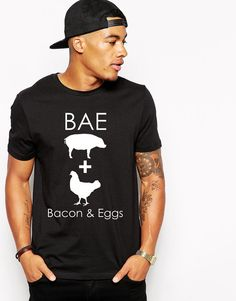 Hey, I found this really awesome Etsy listing at https://www.etsy.com/listing/216300938/valentines-day-bae-bacon-eggs-bae-shirt