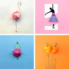 Delightful Illustrations Are Playfully Completed with Everyday Objects - My Modern Met