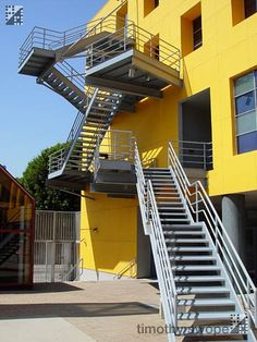 loyola law school stair