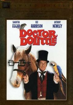 Doctor Dolittle 1968 Golden Globe Awards Best Supporting Actor In A Motion Picture Winner