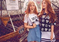Irene and Wendy <3 ahh they looks amazing heree<3♥ #rv #redvelvet #irene #bae #wendy