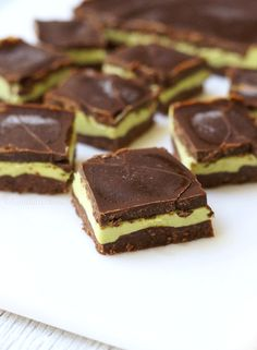 No-Bake Andes Mint Bars - Detoxinista-Visit our website at http://www.natureswaygym.com for a FREE TRIAL PASS