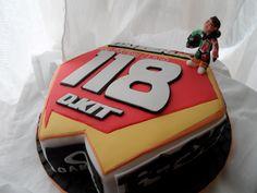 MotoX plate cake