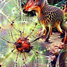 #deepdream #ddream #google #inception #dream #dreaming #aidreaming #art #artgram #ai #artificialintelligence #strange #animals #deep #thoughts #nofilter #instagram  Using the deep dream generator with some of my drawings and pictures... Strange things the ai dreams! by pe.dro.ferr.eira
