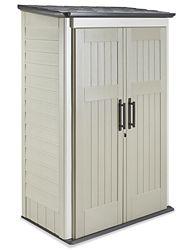 """Rubbermaid® Jumbo Storage Shed, 52 x 30 x 82"""" H-1229 - Uline"""
