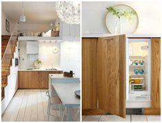 Detalhes amor geladeira dentro do móvel armário inferior ;) Via blog Inspira #inspiracao #ambientespequenos #home #homedesign #designdeinteriores #design #kitchen #cozinha #detail #interiordesign #tomazampinteriores #estilododiatomazamp by tomazamp_interiores http://discoverdmci.com
