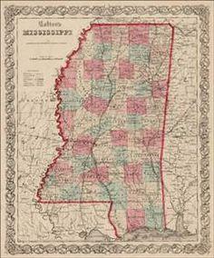 mississippi maps 1700's - Bing images