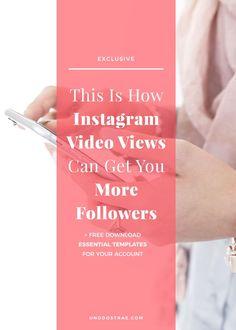 Use Instagram video