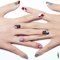 #Giftopia inspired nail art! Get tips on how to recreate this look on The Sephora Glossy.