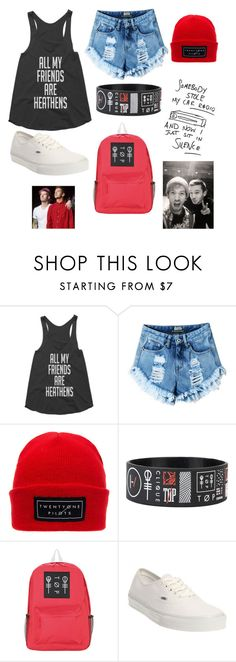 """My friend went to a PATD concert and now I'm jealous. "" by winchester-ashton ❤ liked on Polyvore featuring Vans"