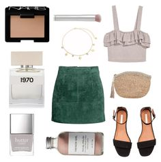 """Smoking Hot"" by braincontortion ❤ liked on Polyvore featuring H&M, Jules Smith, Frontgate, NARS Cosmetics, Bella Freud, French Girl, rms beauty and Butter London"