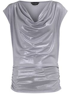 Silver cowl. I like the concept of this shirt better than this actual shirt.