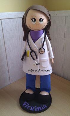 Fofucha doctora / Mira qué cucada! - Artesanio