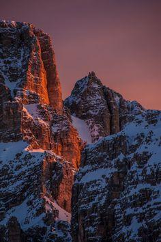 rivermusic:  Sunrise on the Dolomiti! by Antonio RIVA BARBARAN