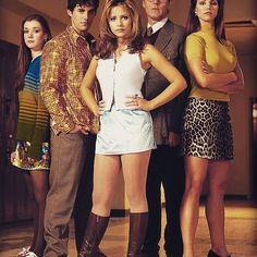 "You either love it, don't know about it, or you're dead inside; but today marks the twentieth anniversary of the Buffy The Vampire Slayer debut (the movie never happened, okay?!?), TWENTIETH as in 2-0 (I'm sooo old 😭). It was a redefining moment in both television and storytelling, inspiring countless others but equalled only by a small few, if any. On second thought, none, when you consider episodes like, ""Hush"" / ""Once More With Feeling"" / ""The Body"" / ""Becoming pt.1&2"" / ""Innocence""…"