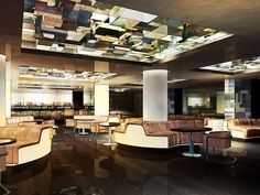 Superior Bar/Lounge In Miami Design By Kravitz Design, Rendering By Acme Digital Amazing Design