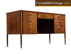 Mid Century Modern Broyhill Carama Desk Price: $895.00