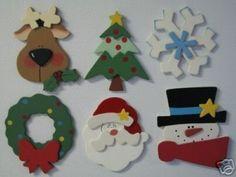 Faça um cartão de Natal em EVA! Veja aqui como fazer um cartão criativo e barato para presentear alg...