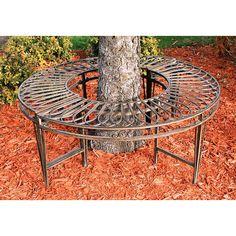 Found it at Wayfair.co.uk - Gothic Garden Division Steel Circular Tree Seat