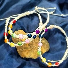 Chakra bracelets by Simply hand made by Kris