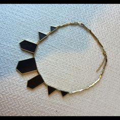 House of Harlow Necklace Black and gold hardware house of Harlow necklace, great condition, only worn once! House of Harlow 1960 Jewelry Necklaces