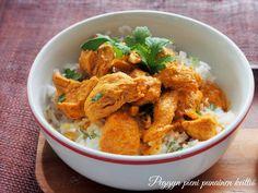 Peggyn pieni punainen keittiö: Chicken curry, kanacurry-videoresepti