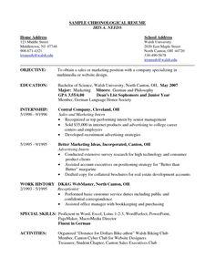 Resume Cum Laude Resume Template Pinterest