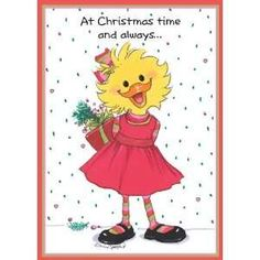 """Suzy's Zoo Christmas Cards, """"Your Friendship Is a Gift"""" 10911 by Suzy's Zoo. Christmas Animals, Christmas Art, Christmas Ideas, Christmas Greeting Cards, Christmas Greetings, Christmas Wishes, Zoo Art, Cross Stitch Books, Christmas Pictures"""