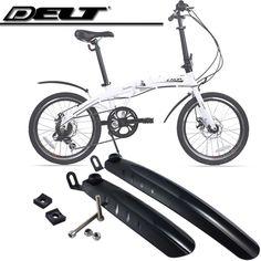 Bicycle Bike Fenders Mudguards For 18/20 inch Folding 280MM 345MM 1 set  Black