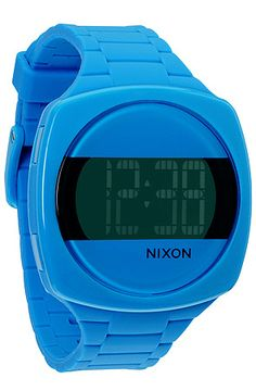 $15 Nixon The Dash Watch in Sky Blue - Use repcode SMARTCANUCKS for 10% off on #PLNDR - http://www.lovekarmaloop.com