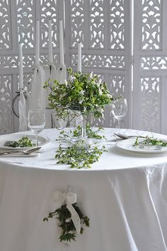 Romantic table for two...