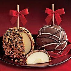 HARRY AND DAVID CHOCOLATE CARAMEL APPLES