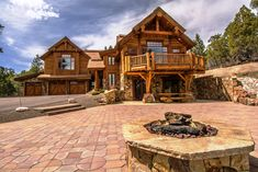 Custom Log House