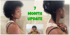 7 Months post big chop! :)