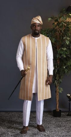 Mens Style Discover Tade African men suit African wedding suit African groom suit African fashion dashiki for men mens clothing African mens wear African Wear Styles For Men, African Shirts For Men, African Dresses Men, African Attire For Men, African Clothing For Men, Latest African Fashion Dresses, African Print Fashion, Ankara Fashion, African Style