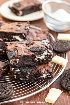 Sweet Cakes, Fudge, Oreo, Biscuit, Cheesecake, Deserts, Goodies, Food And Drink, Sweets