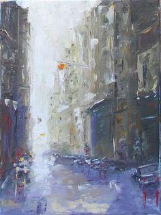 "Daily Paintworks - ""Morning"" - Original Fine Art for Sale - © Elena Nayman"