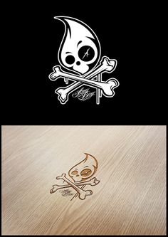 Ang Bay Skull Logo.