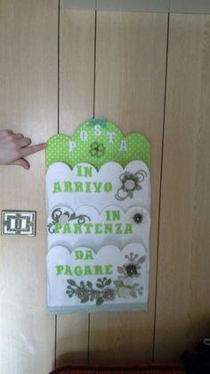 Risultati immagini per busta porta posta feltro