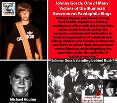 Johnny Gosch, One of Many Victims of the Illuminati Government Paedophile Rings