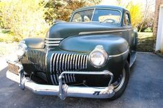 Uncle Clarence's 1941 DeSoto Coupe - http://barnfinds.com/uncle-clarences-1941-desoto-coupe/