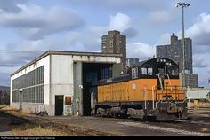 RailPictures.Net Photo: MILW 691A Chicago, Milwaukee, St. Paul & Pacific EMD TR4A at Minneapolis, Minnesota by Tom Farence